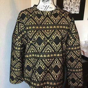 Zara Crochet Oversized Sweater